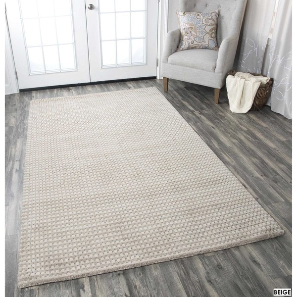 Rizzy Home Platoon New Zealand Wool Accent Rug (5' x 8')