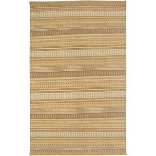 Rizzy Home Twist 100-percent Wool Hand-woven Accent Rug (3' x 5') - 3' x 5'