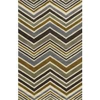Rizzy Home Rockport 100-percent Wool Hand-tufted Accent Rug (2' x 3')