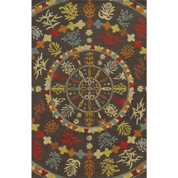 Rizzy Home Rockport 100-percent Wool Hand-tufted Accent Rug (2' x 3') - 2' x 3'