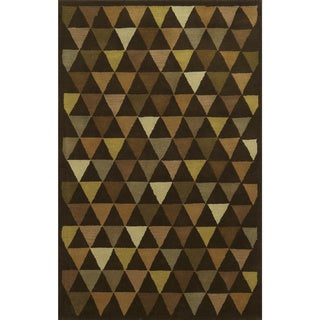 Rizzy Home Julian Pointe 100-percent Wool Hand-Hand-Tufted Accent Rug (2' x 3')