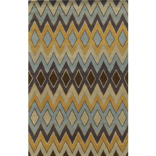 Rizzy Home Pierre 100-percent Wool Hand-tufted Accent Rug (2' x 3')