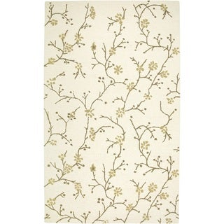 Rizzy Home Country Collection Hand-tufted New Zealand Wool Accent Rug - 2' x 3'
