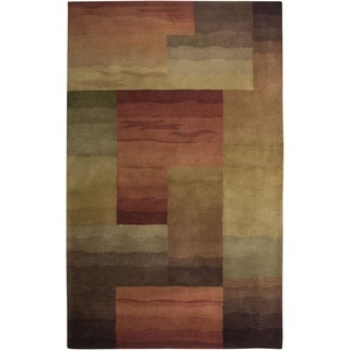 Rizzy Home Hand-tufted New Zealand Wool Colours Accent Rug (2' x 3')