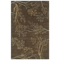 Rizzy Home Hand-tufted Home Craft 100-percent Wool Accent Rug (2' x 3')