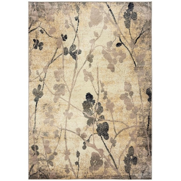 Rizzy Home Bay Side Collection Power-loomed Accent Rug (7'10 x 10'10) - 7'10 x 10'10