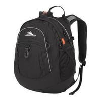 High Sierra Fat Boy Black Tablet Backpack