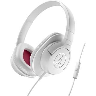 Audio-Technica SonicFuel Headphone + Smartphone Controls AX1iSWH