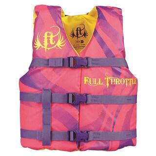Full Throttle Youth Character Vest, Orange