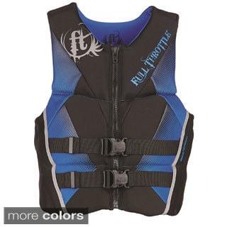 Full Throttle Men's Hinged Rapid-Dry Flex-Back Vest
