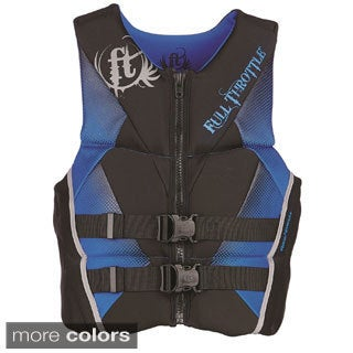 Full Throttle Men's Hinged Rapid-Dry Flex-Back Vest
