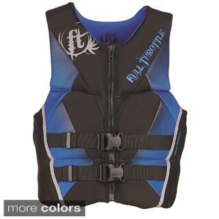 Full Throttle Men's Hinged Rapid-Dry Flex-Back Vest (5 options available)