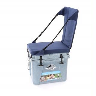 Nash 23 quart Sub Z Cooler with High Back Seat, Blue