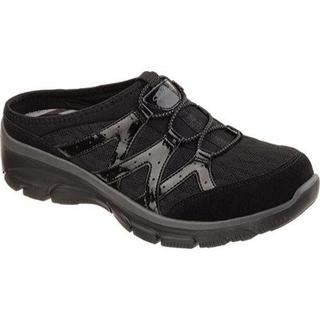 Women's Skechers Relaxed Fit Easy Going Repute Clog Sneaker Black