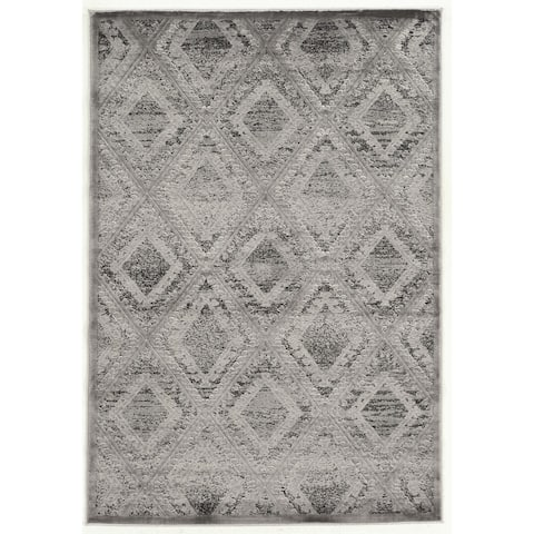 Linon Platinum Collection Santa Fe Rug Overstock Exclusive