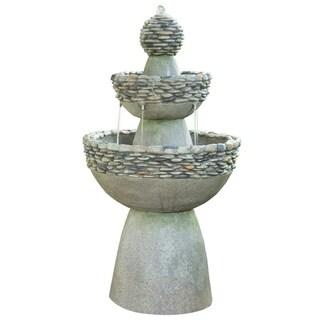 Peaktop Outdoor Garden Zen 3-level Fountain