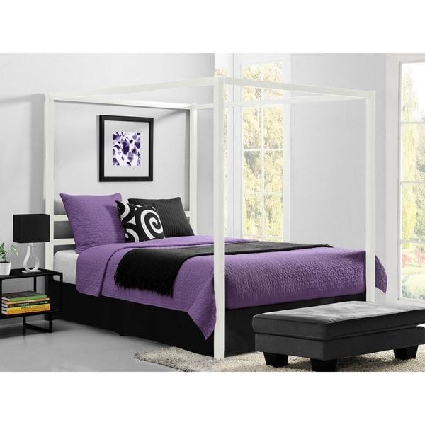 DHP Modern Canopy Queen Metal Bed