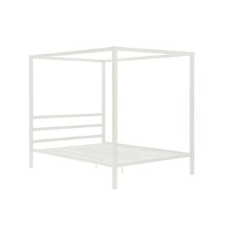 DHP Modern Canopy Queen Metal Bed
