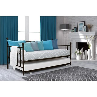Avenue Greene Marina Metal Twin Daybed and Trundle Set