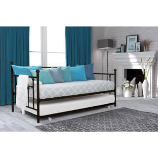 Avenue Greene Marina Twin Daybed and Trundle Set. Trundle Bed Kids    Toddler Beds For Less   Overstock com