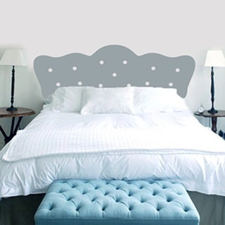 Full Size Button Headboard Wall Decal