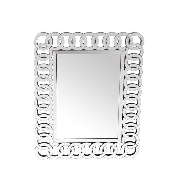 Privilege Chain Link Beveled Wall Mirror
