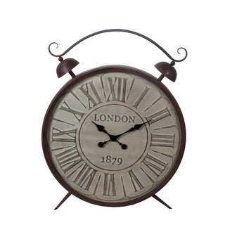 Privilege 1879 London Metal Table Clock