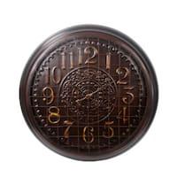Privilege Large Bronze European Metal Wall Clock