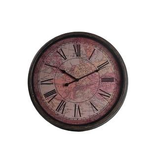 Privilege Pink Europe Vintage Wall Clock