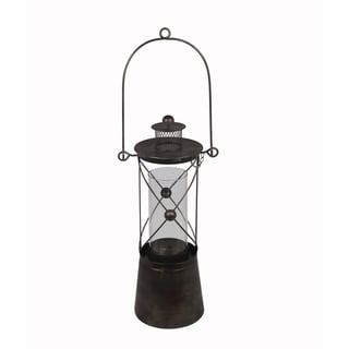 Privilege Black Small Metal Lantern