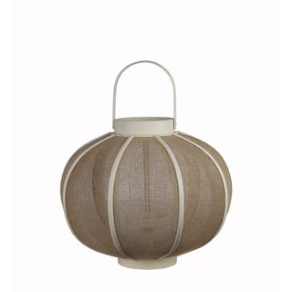 Privilege White Wooden Lantern