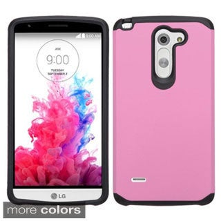 Insten Hard PC/ Silicone Dual Layer Hybrid Rubberized Matte Phone Case Cover For LG G3 Stylus