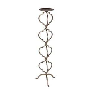 Privilege Bronze Large Iron Candle Holder