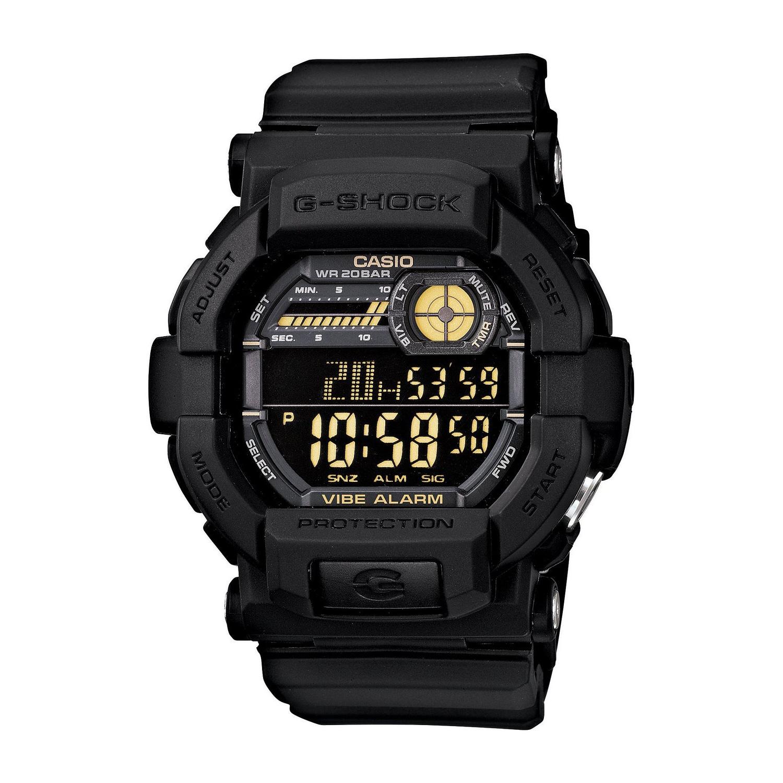 Casio Men's GD350-1B G Shock Black Watch, Size One Size F...
