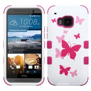 Insten Design Pattern Tuff Hard PC/ Silicone Dual Layer Hybrid Rubberized Matte Phone Case Cover For HTC One M9