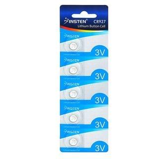 Insten 5 Piece-set CR927 Lithium Coin Button Battery (Pack of 5)