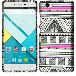 Insten Design Pattern Hard Snap-on Rubberized Matte Phone Case Cover For BLU Studio Energy