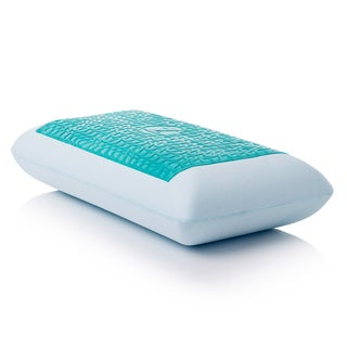 Shop Blu Sleep Ice Gel Memory Foam Pillow With Cover
