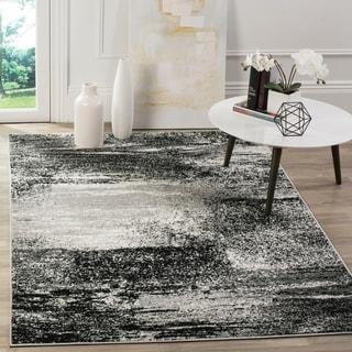 Safavieh Adirondack Modern Abstract Silver/ Multi Rug (6' x 9')