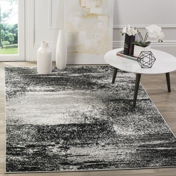 Safavieh Adirondack Modern Abstract Silver/ Multicolored Rug (6' x 9')