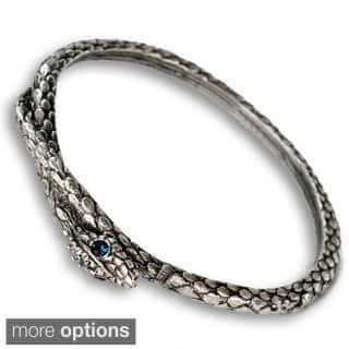 Sweet Romance Snake Serpent Bangle Bracelet|https://ak1.ostkcdn.com/images/products/10214973/P17337297.jpg?impolicy=medium