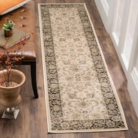 Safavieh Vintage Oriental Ivory/ Brown Distressed Rug - 2'2 x 8'