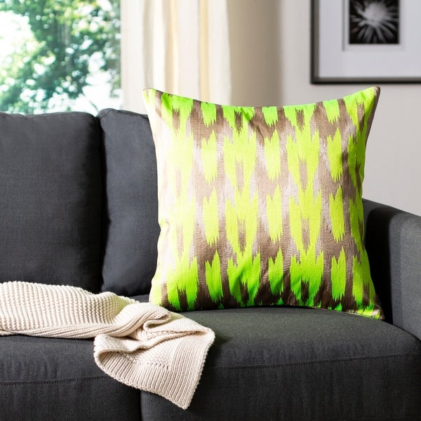 Shop Safavieh Boho Chic 20-inch Neon Citrus Decorative