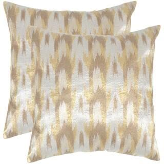 Safavieh Boho Chic 20-inch Metallic Silver Decorative Throw Pillows (Set of 2)|https://ak1.ostkcdn.com/images/products/10215020/P17337225.jpg?impolicy=medium
