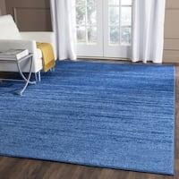 Safavieh Adirondack Vintage Ombre Light Blue/ Dark Blue Rug - 5'1 x 7'6