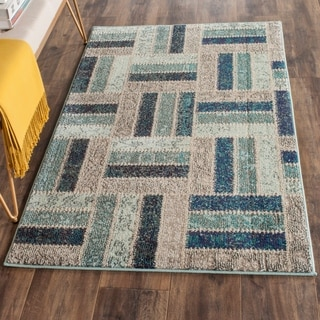 Safavieh Monaco Grey/ Blue Rug (3' x 5')