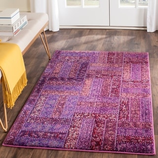 Safavieh Monaco Purple/ Multicolored Rug (3' x 5')