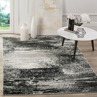 Safavieh Adirondack Modern Abstract Silver/ Multicolored Rug (4' x 6')