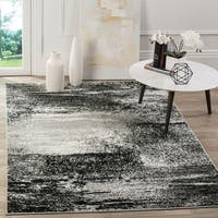 Safavieh Adirondack Modern Abstract Silver/ Multicolored Rug - 4' x 6'