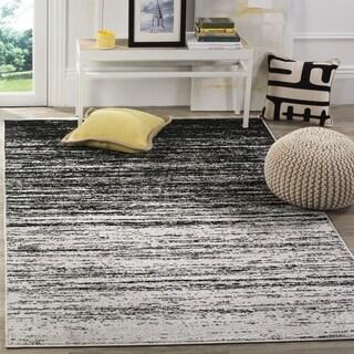 Safavieh Adirondack Modern Silver/ Black Rug (4' x 6')